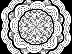 Cool Mandala Drawing 17
