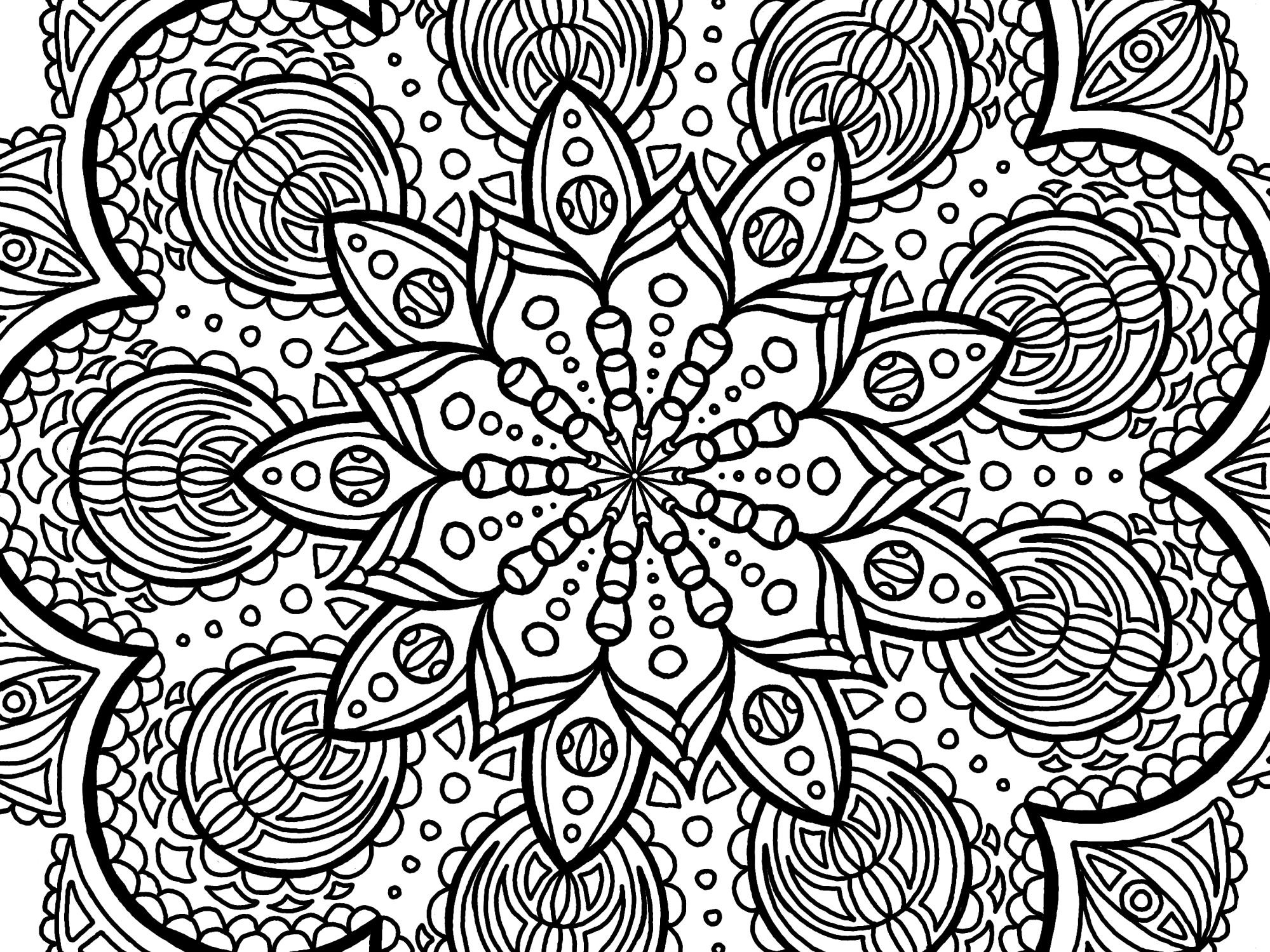 Cool Mandala Drawing 8