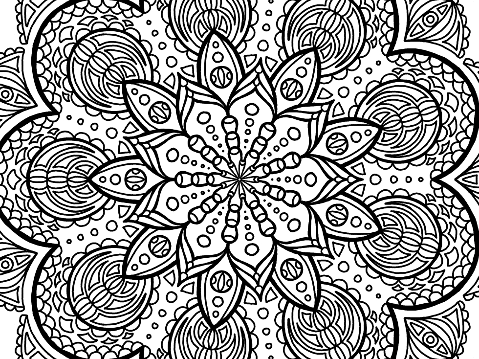 Cool Mandala Drawing 8