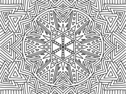 Cool Mandala Drawing 16