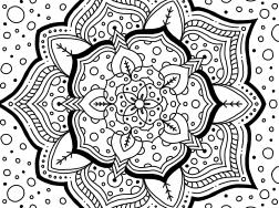Cool Mandala Drawing 14