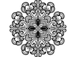 Cool Mandala Drawing 12