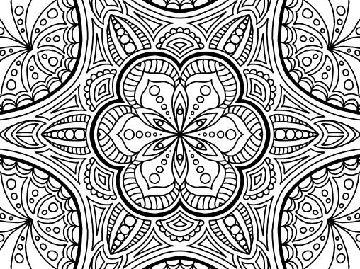 Cool Mandala Drawing 11